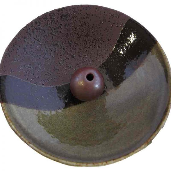 Midnight Water beautiful Japanese ceramic incense holder at a very reasonable price