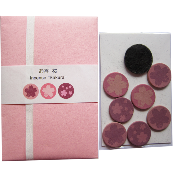 Sakura Printed Incense Fine Japanese Imports Special Seasonal Gift Ideas