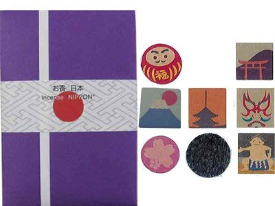 Japan Printed Incense at Fine Japanese Imports Sakura Murasaki